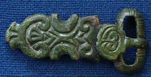 Buckle from Mitchell's Hill, Icklingham